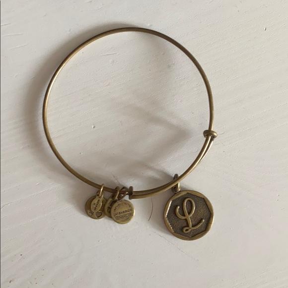 Alex & Ani Letter L bracelet